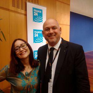 Philippe DIEUDONNÉ - CEO - HUMANUM EXECUTIVE & Nour BOUAKLINE - Consultante en Marketing Digital (Tunisie) #ATDA2017